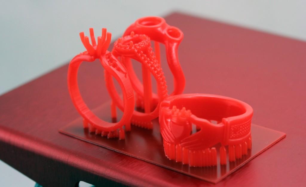 b9 creator dlp 3D prints