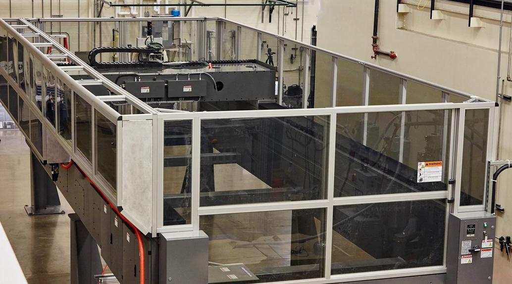 baam 3D printer from ornl and Cincinnati