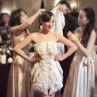 Xuberance's 3D Printed Wedding Dresses Draw Praise in Shanghai