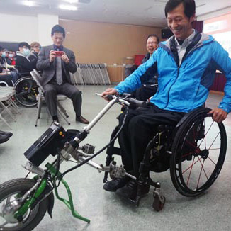 feature 3D printing wheelchair mod called sherpa bike