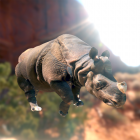 Free 3D Printable of the Week: an Indian Rhino