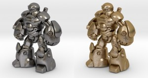gold plated steels 3D prints of open board games