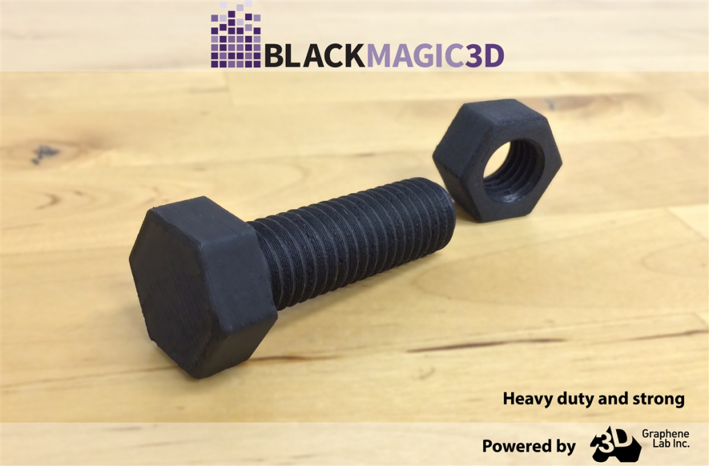 graphene strength tooling with 3D printing filament