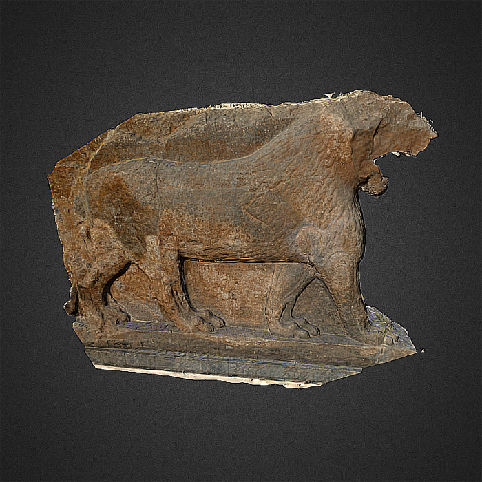 lion of mosul digitally preserved with 3D modeling