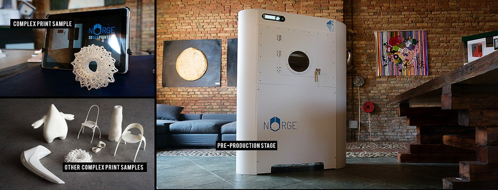 norge systems sls 3D printers for prodways gorge groupe