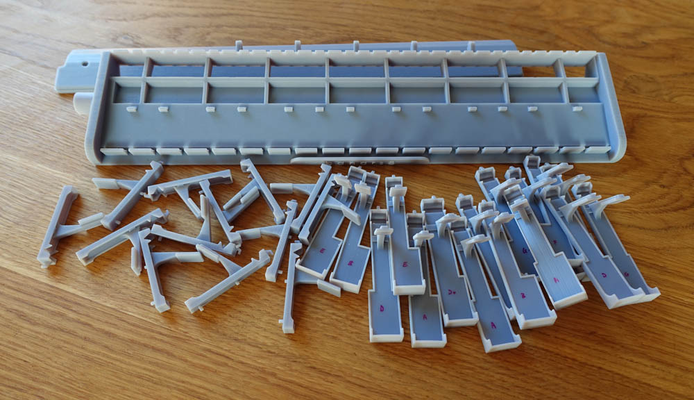resin 3D printed melodica from Daren Banarsë