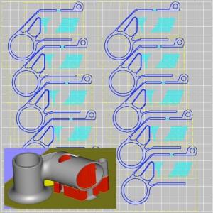 schematics for 3D printing bike part