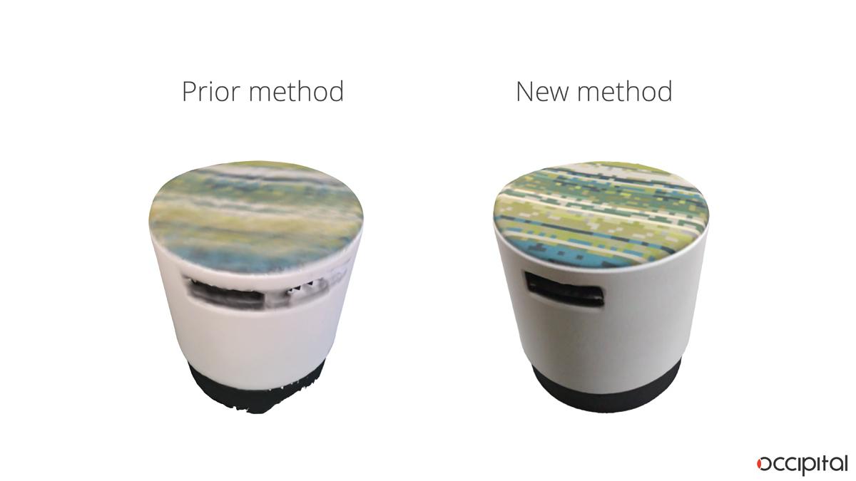 structure sensor 3D scanning autotracking