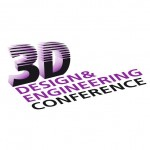 3d design and engineering con logo 3d printing