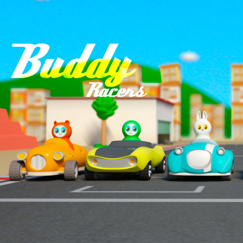 3D printable buddyracers from dream factory