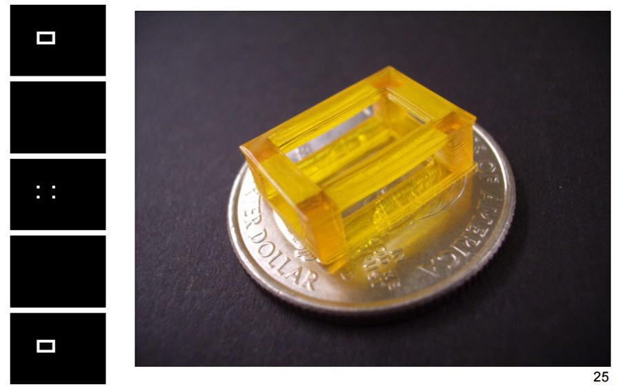 3D printed micro sla 3D printing