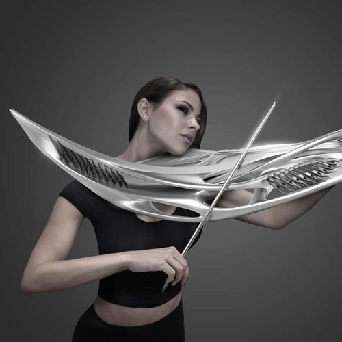 MONAD's 3D Printed Electric Violin
