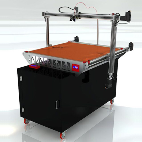 3DP1000 large scale 3DPrinter from 3DP unlimited copy