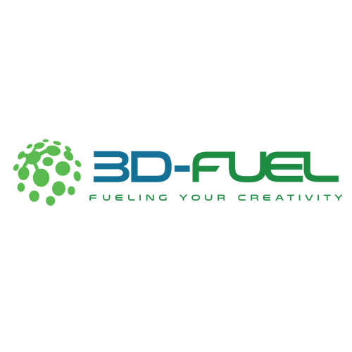 3d fuel logo for algae 3D printing filament