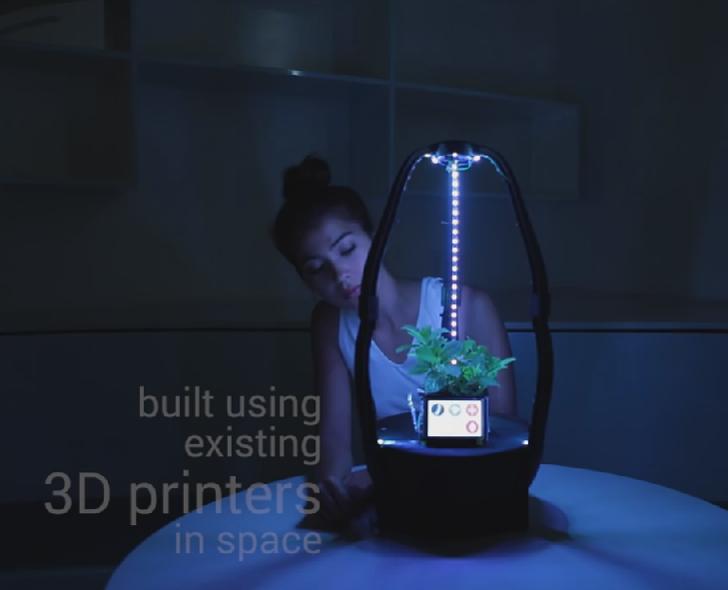 3d printed agro pod