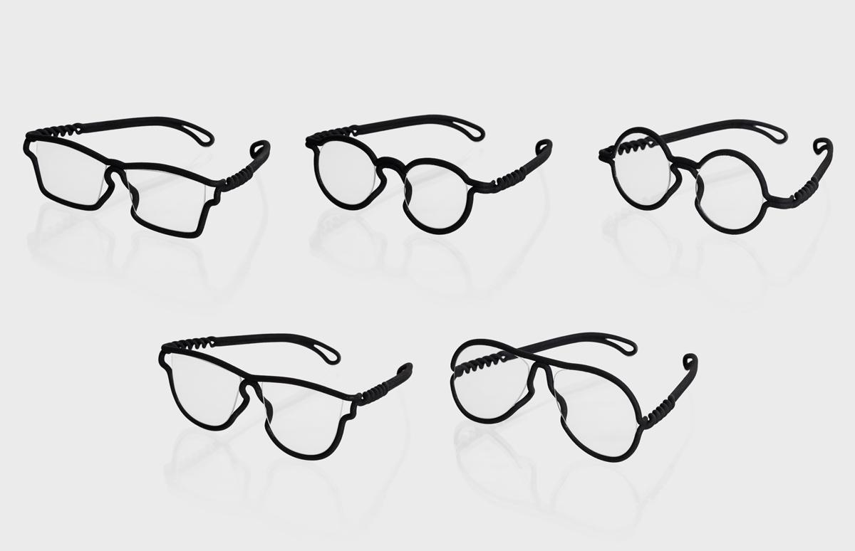 Monturas de gafas impresas en 3D de una sola pieza - Impresoras 3D ...