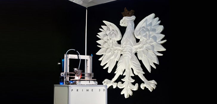 White Eagle and PRIME 3D printer