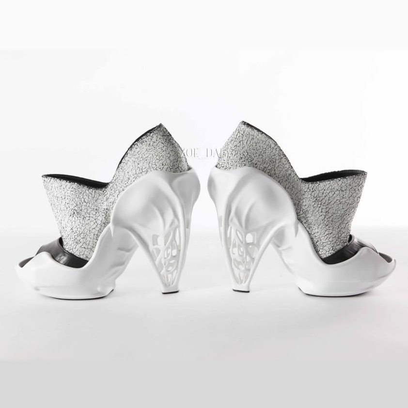 London Designer's 3D Printed, High-Fashion Heels are Fully-Customizable