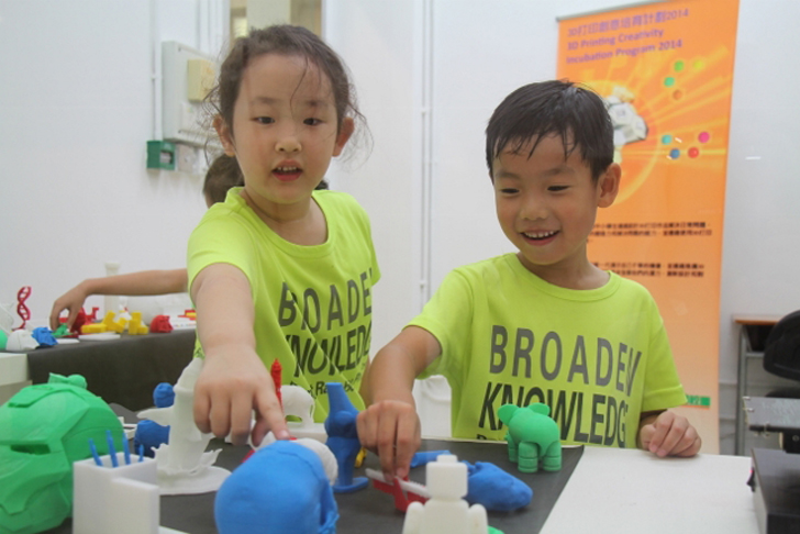 3D printing in Hong Kong with Makers Empire