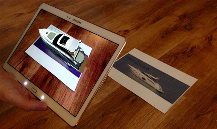 dee three ar app for 3D printed yachts