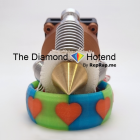 Diamond Hotend for Full-Color 3D Printing Funded in Two Days