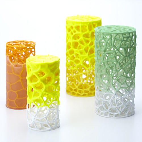 experimental creations 3D printing at Milan Design Week