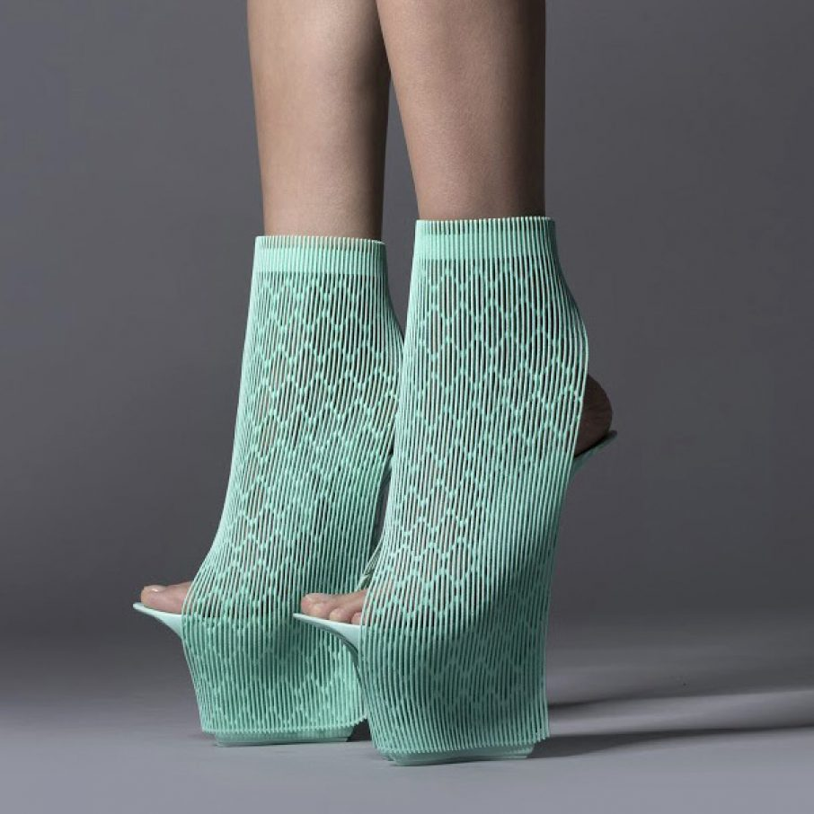 3D Printed Shoes At Milan Design Week