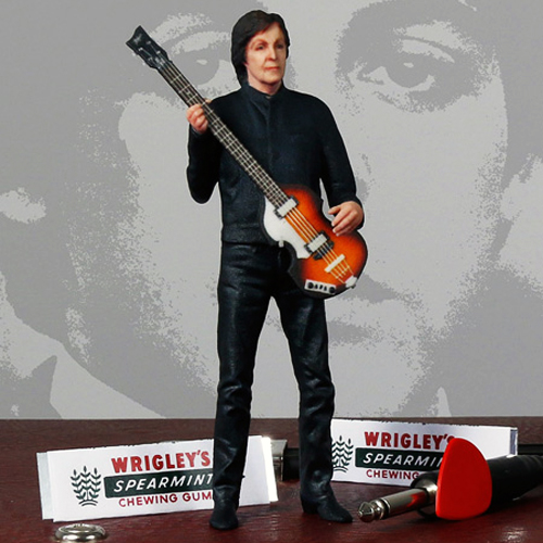 full color 3D printed paul mccartney feature