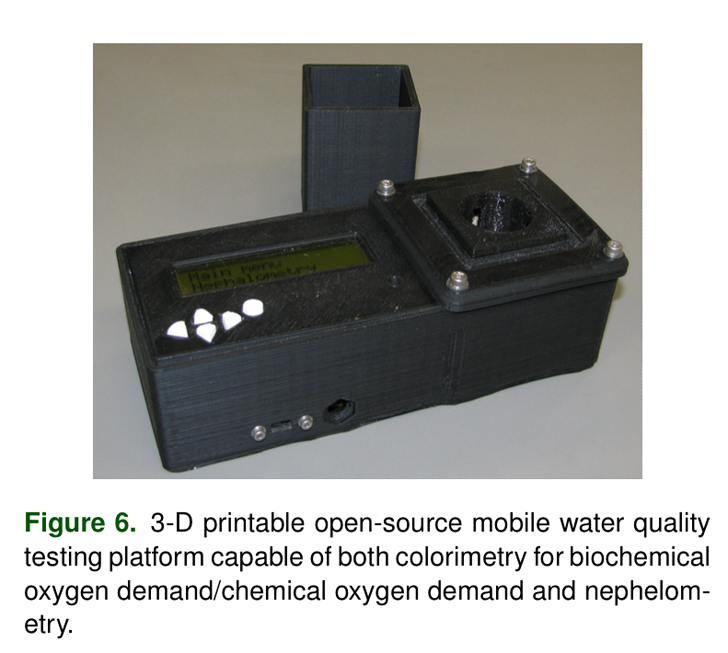 joshua pearce 3D printed water quality tester