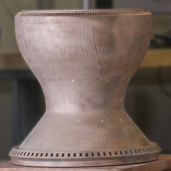 nasa copper part 3d printing