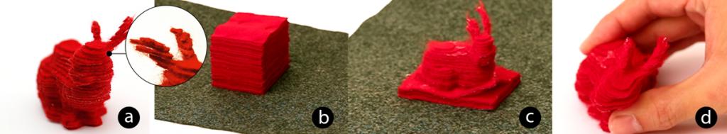 printing the fabric bunny