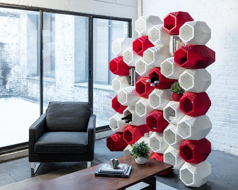 simplus design supermod 3D printed shelving