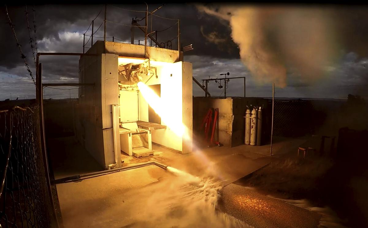 testing 3D printed electron rutherford rocket