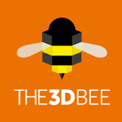 the3dbee 3D printing retail logo