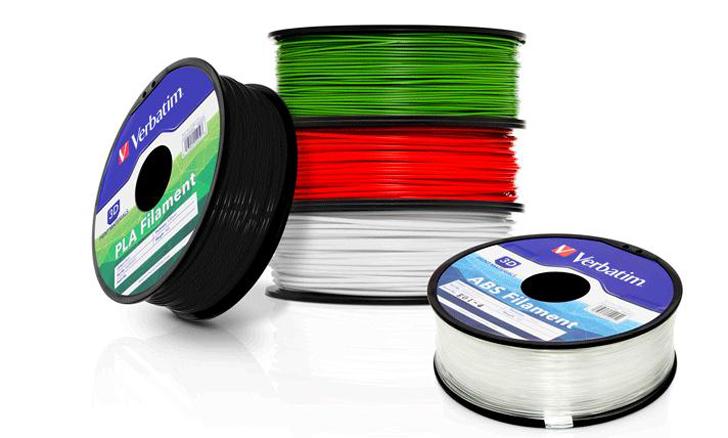 verbatim 3D printing filament