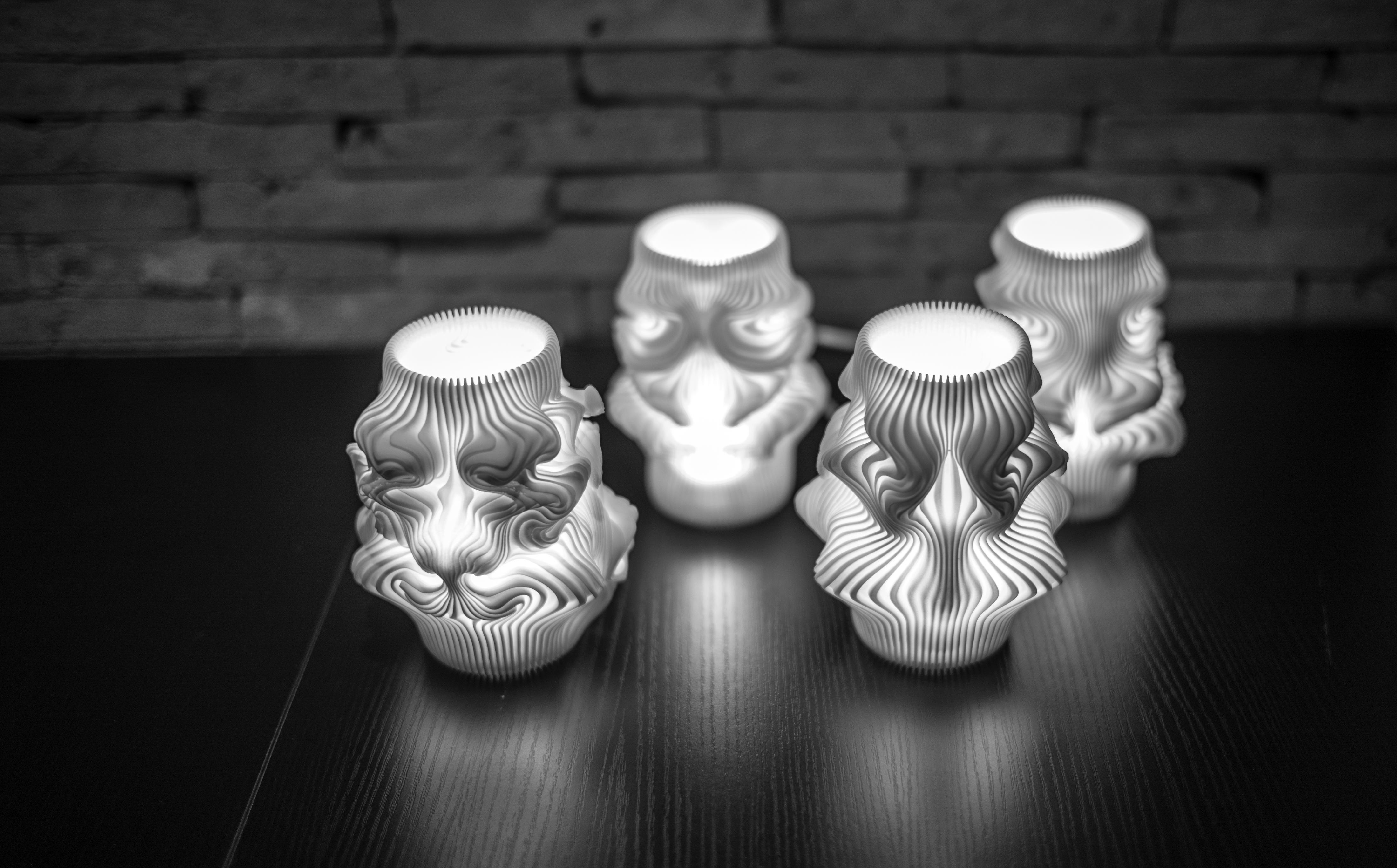 Xuberance 39 s 3d printed lamps 3d printing industry 3d design