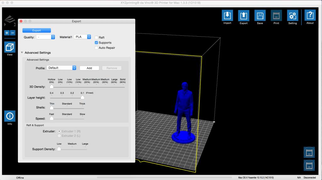 xyzware 3D printing paul mccartney