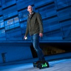 App-Controlled 3D Printed Electric Skateboard Rolls Through Maker Faire