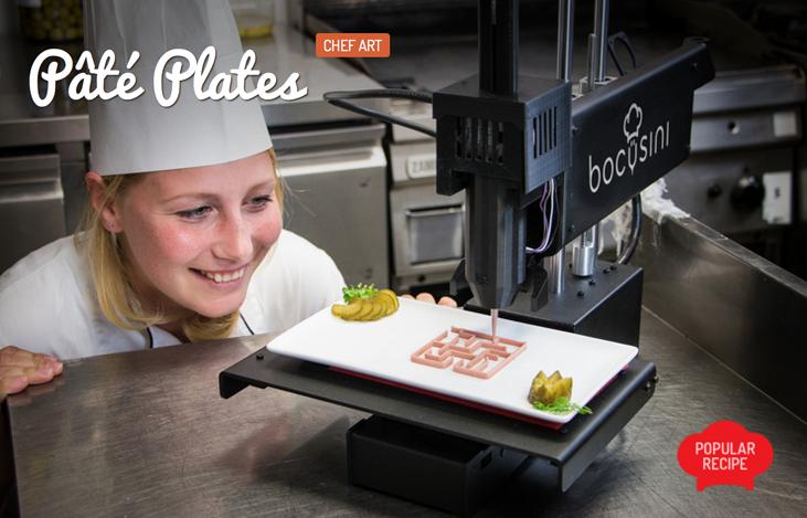 3D printed pate plates