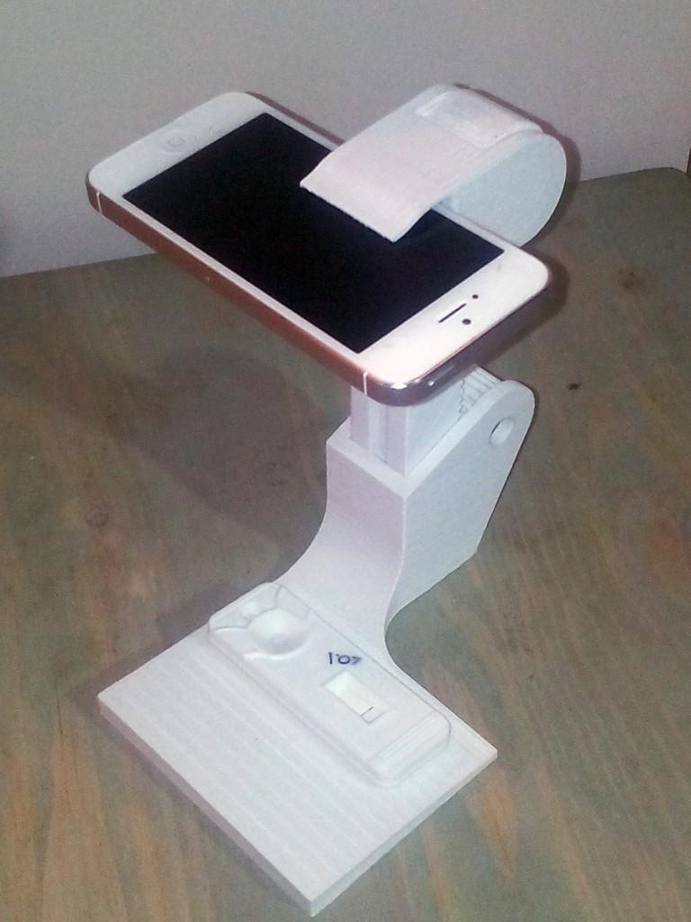 3D printed rapid diagnostic test holder