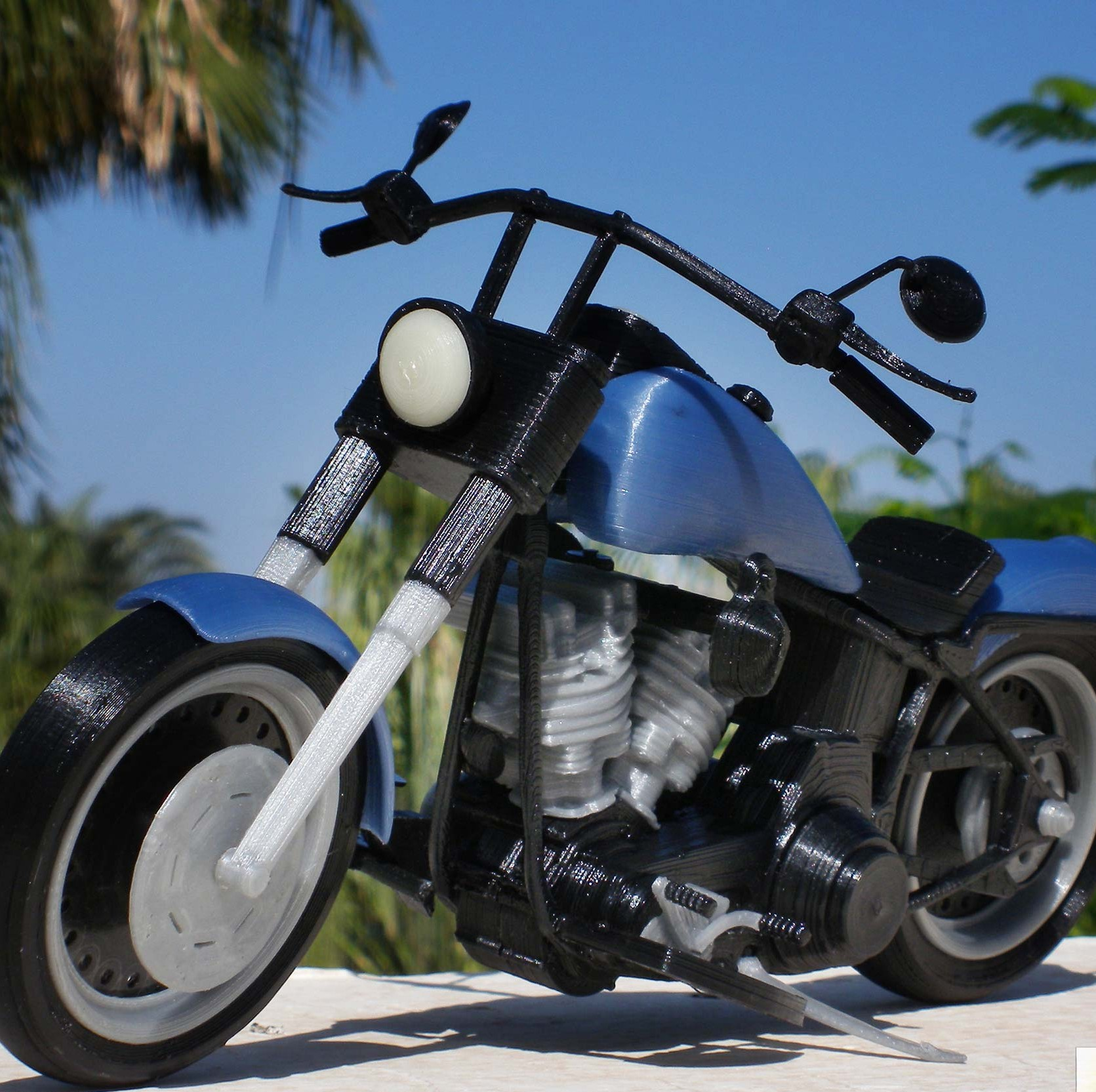 Fat Boy Motorcycle's Urban Legend Lives on Through 3D Printing