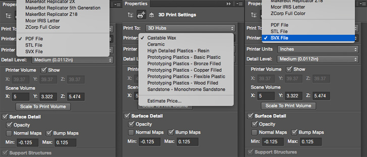 Adobe Adds 3D PDF 3D Printing & More to Photoshop CC - Canada Makes