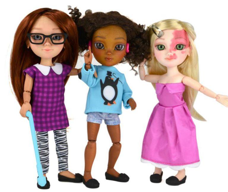 makies 3d printed dolls disabilities toy like me