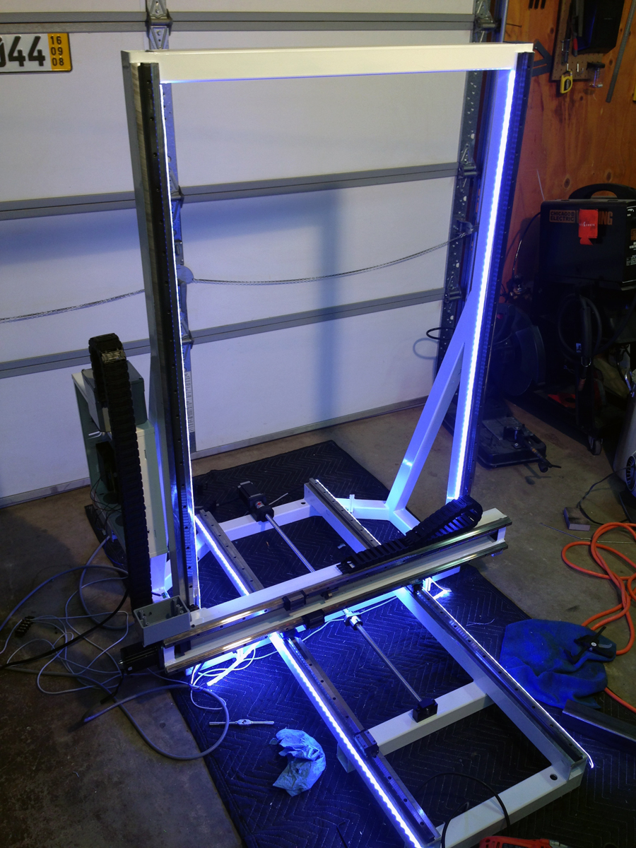 Atlas D Printer Large Scale From Titan Robotics on 3d Printer Stepper Motors For