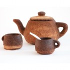 The Utah Tea Set is 3D Printed Entirely from Tea