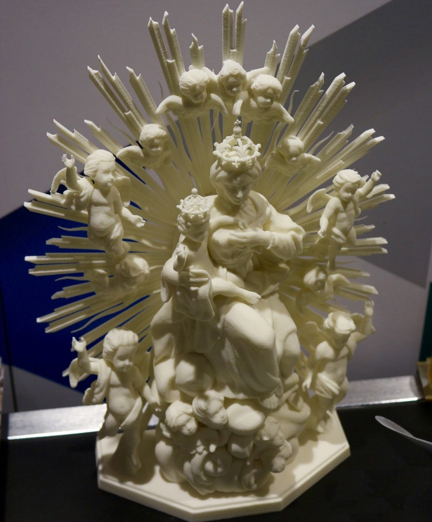 holy-3D-mural (Precision 3D printing)