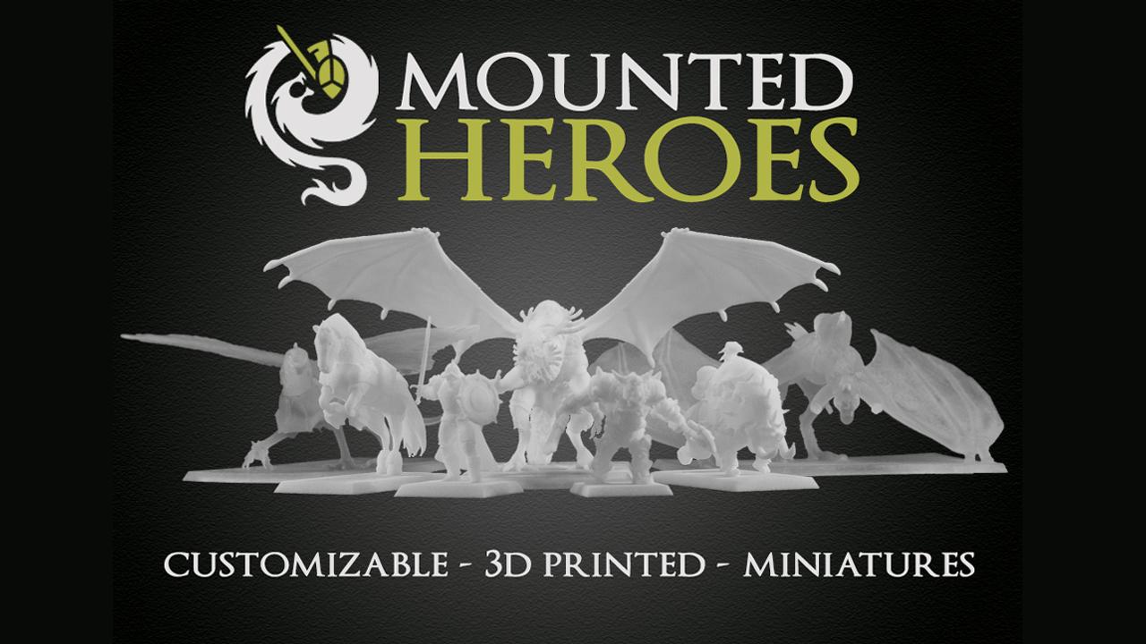 imagine 3d printed miniatures