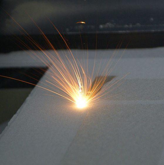 laser sls 3d printing