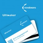 Novabeans & Ultimaker Launch World's 1st 3D Printing Prepaid Card in India