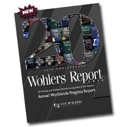 wohlers report 2015 on sale at 3D printing industry